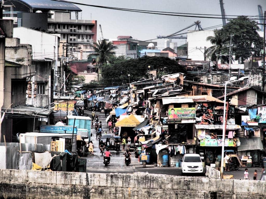 Manila hat viele häßliche Seiten