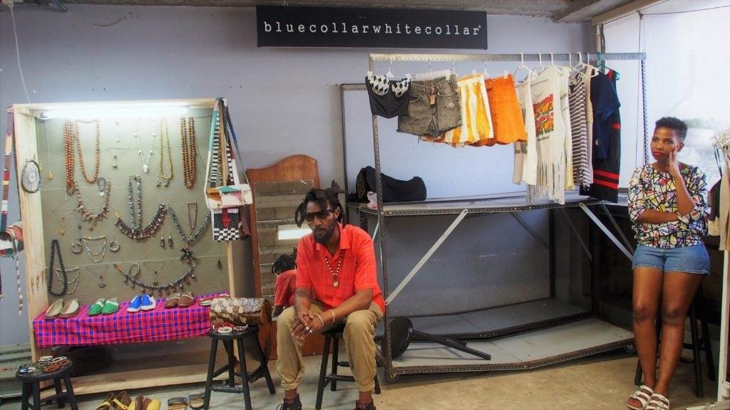 Einheimiche Designer auf dem Neighbourgoods Market, Johannesburg