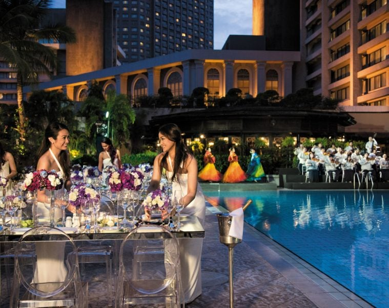 Pool des Peninsula Manila