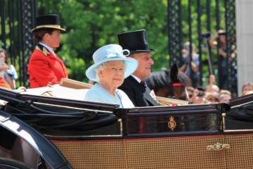 Queen Elisabeth im Juni 2017