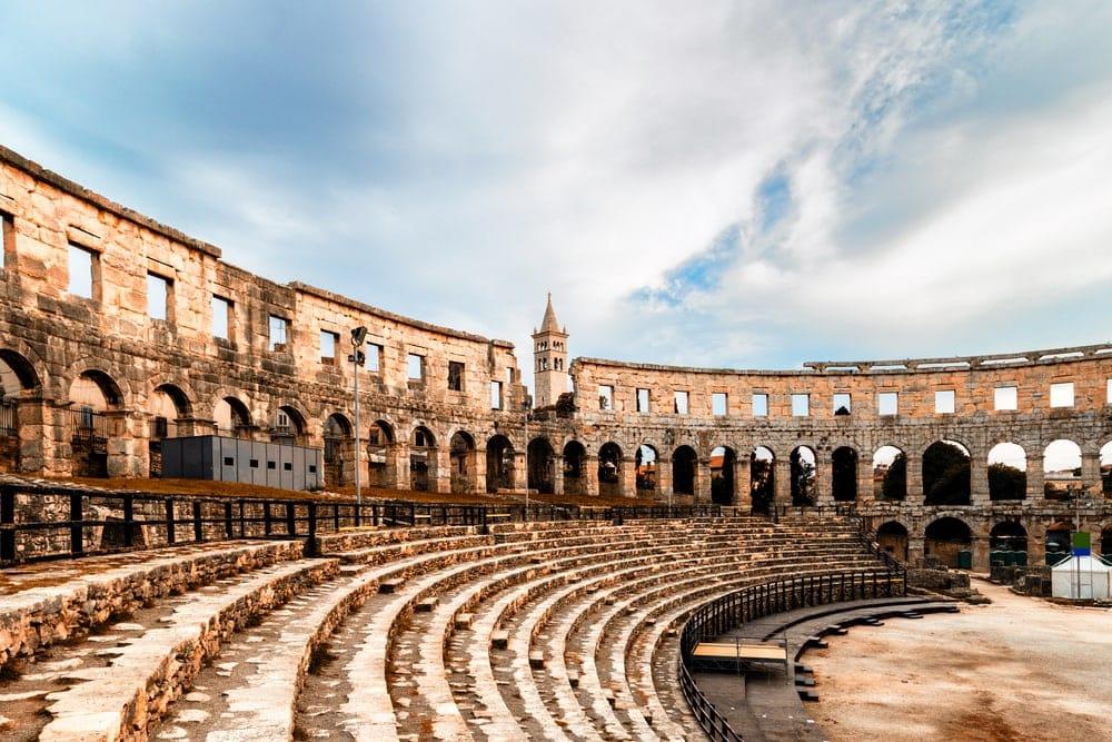 Römisches Amphitheater in Pula, Istrien