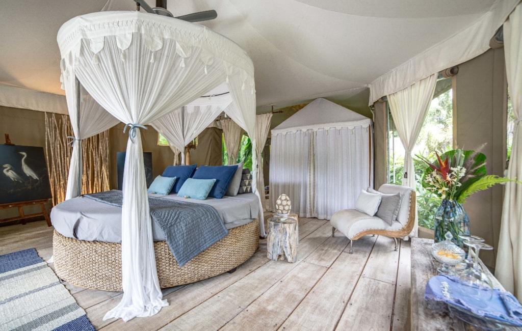 Die besten Glamping-Hotels weltweit: Zimmer imSandat Glamping Tents
