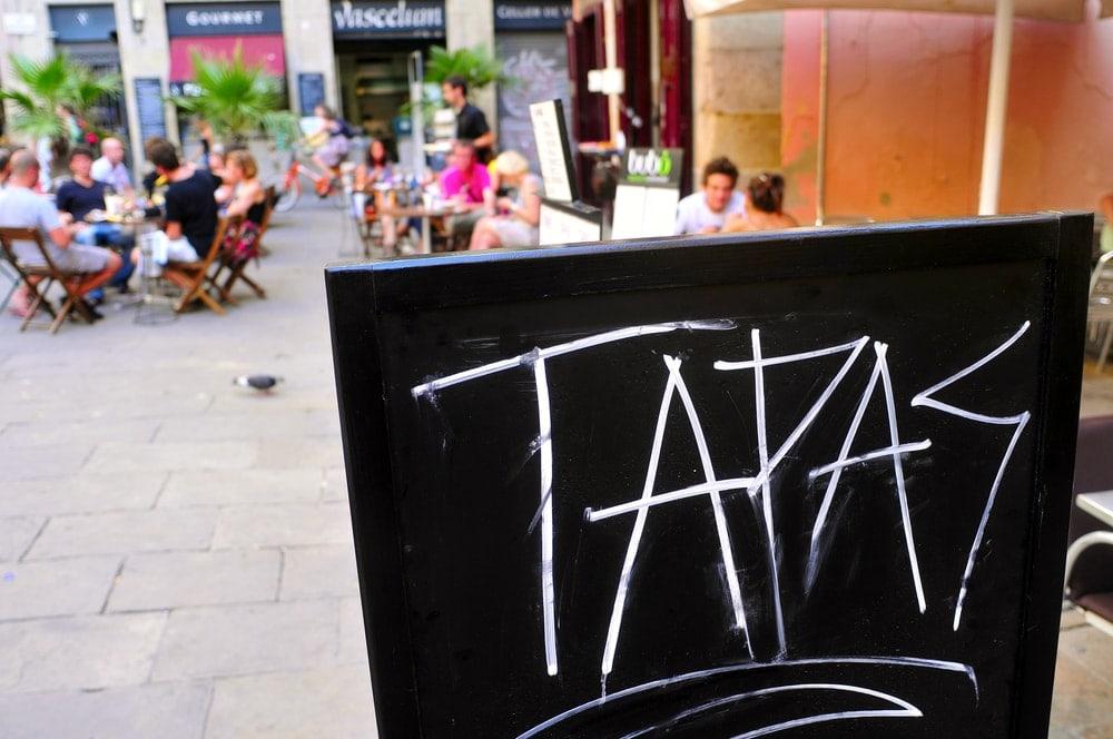 Tapas-Restaurant in Barcelona