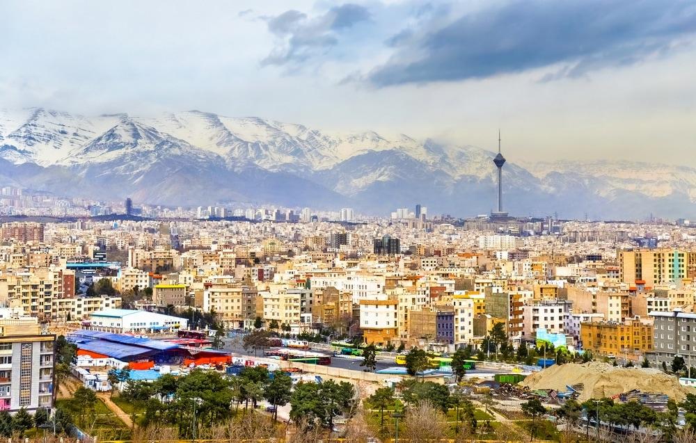 Panorama von Teheran