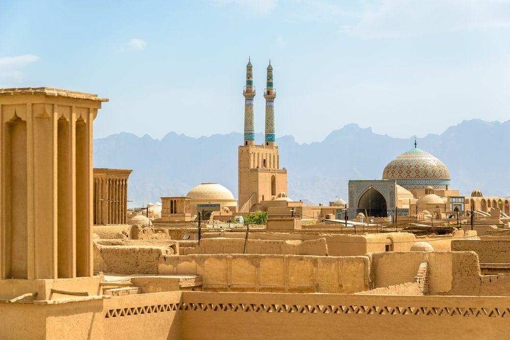 Altstadt von Yazd im Iran