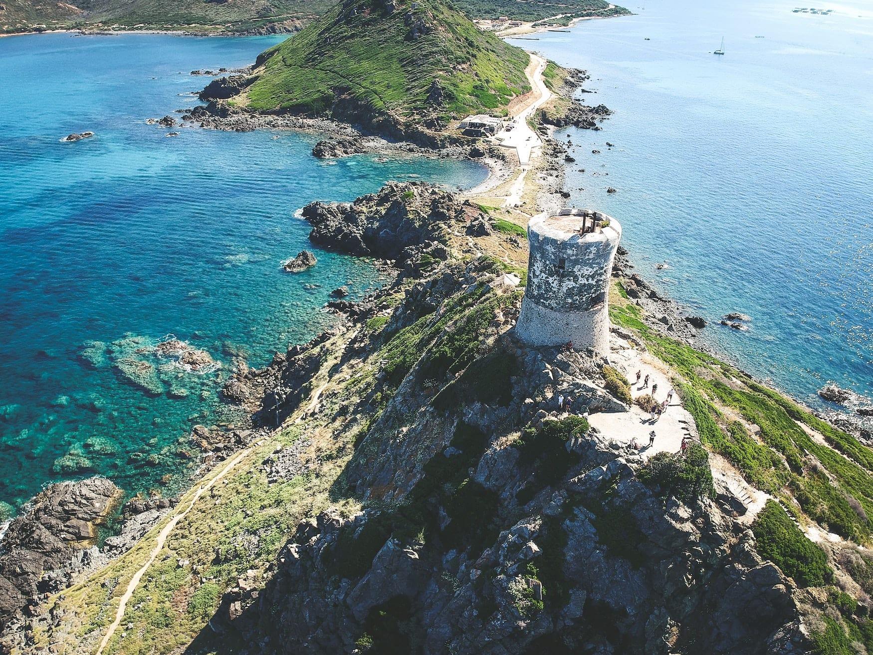 Parata-Festungen an den Küsten von Korsika