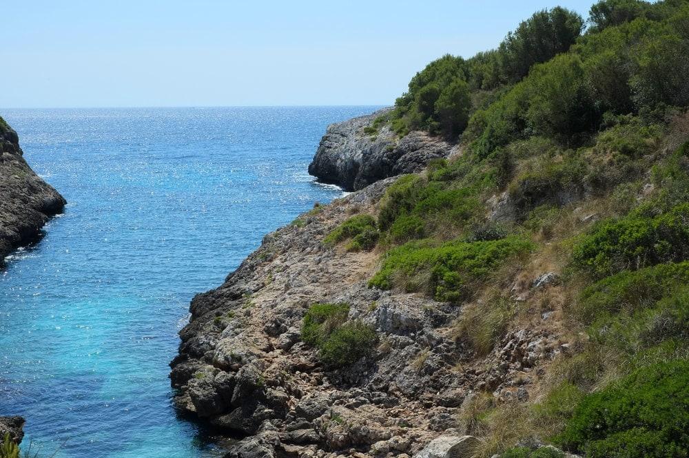 Strand Cala Murta auf Mallorca