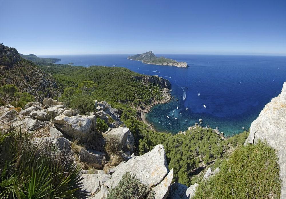 Strand Cala en Basset auf Mallorca