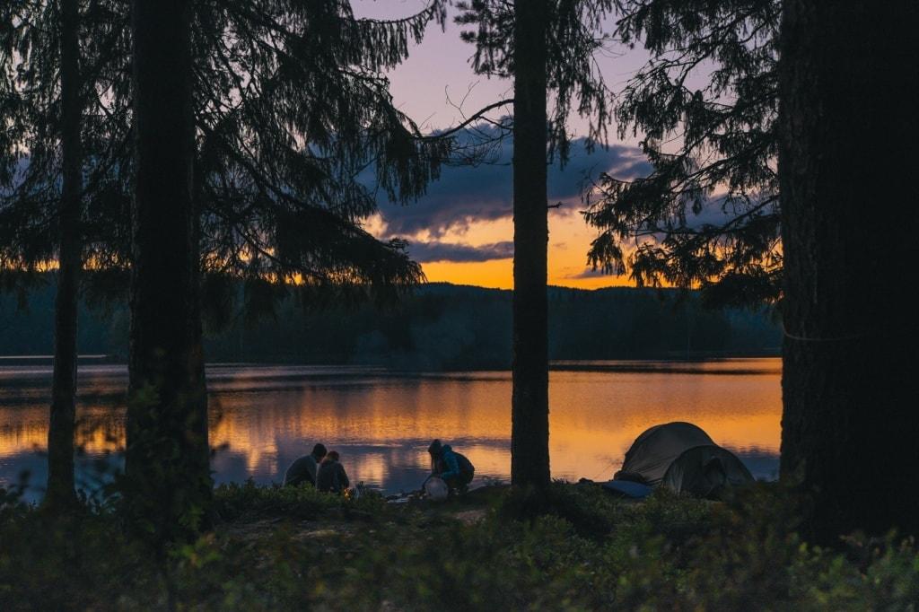 Hessen bietet einige schöne Orte zum Campen.