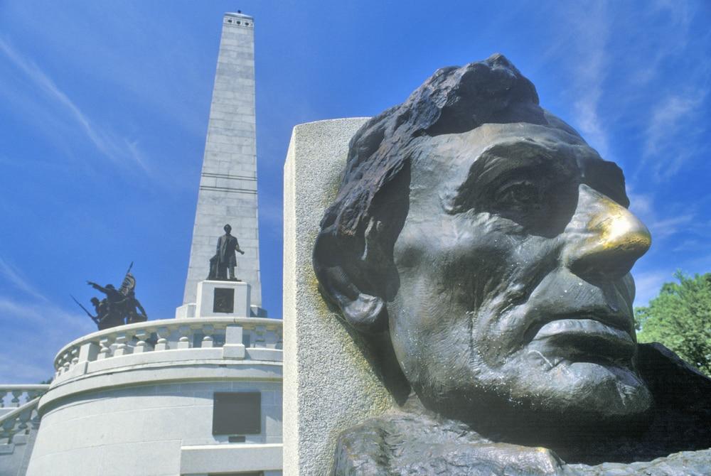 Lincoln-Statue in Springfield