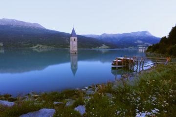 Reschensee im Vinschgau