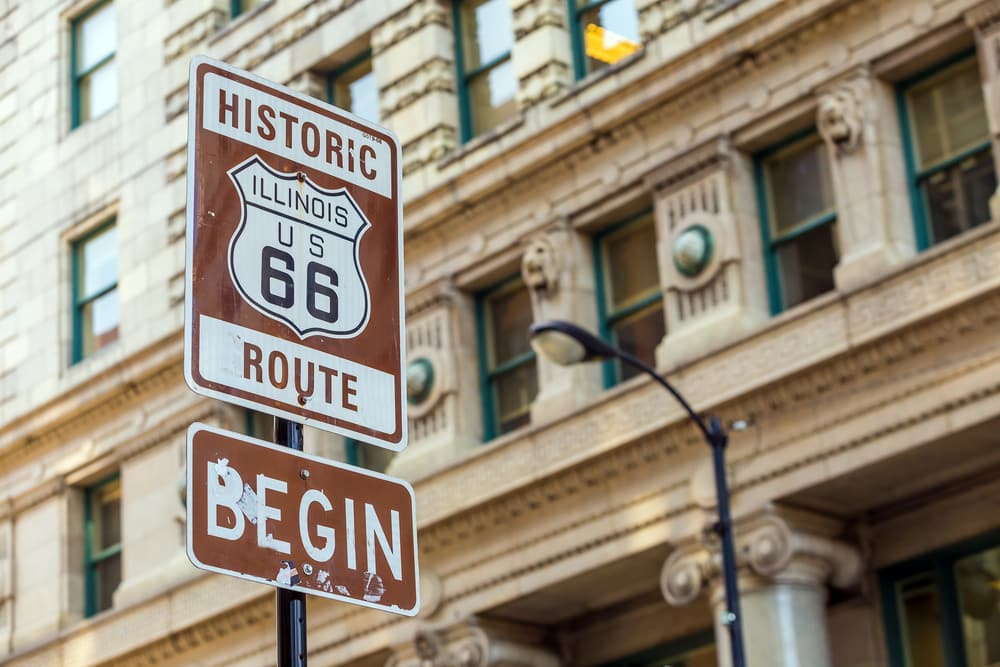 Route 66 in Illinois: Beginn in Chicago