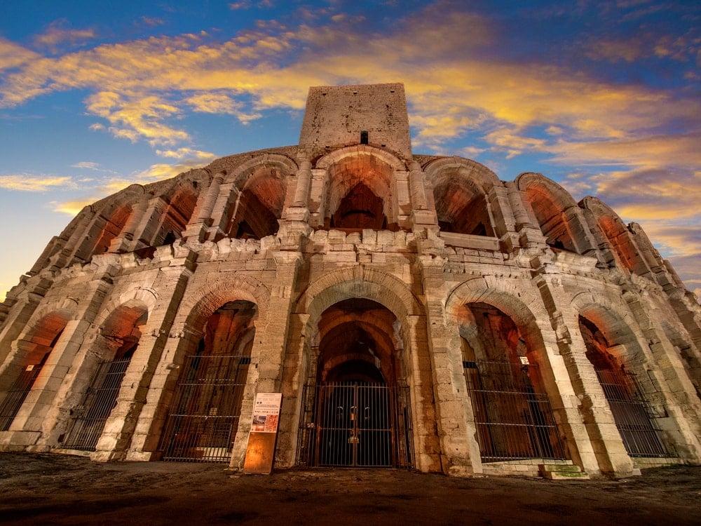 Unesco-Welterbestätte Arles in Frankreich