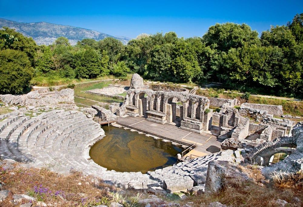 Unesco-Welterbestätte Butrint in Albanien