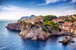 Game-of-Thrones-Drehorte in Kroatien: Blick auf Dubrovnik