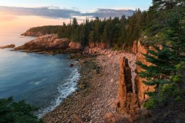 Küste im Acadia National Park in Maine