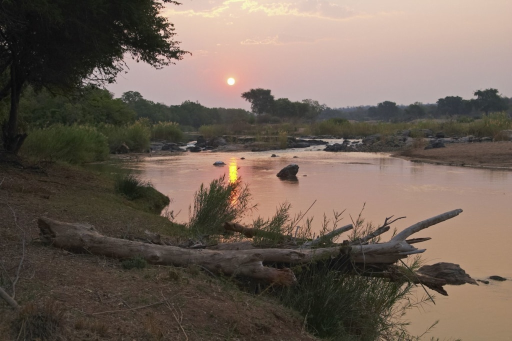 Olifants River in Südafrika
