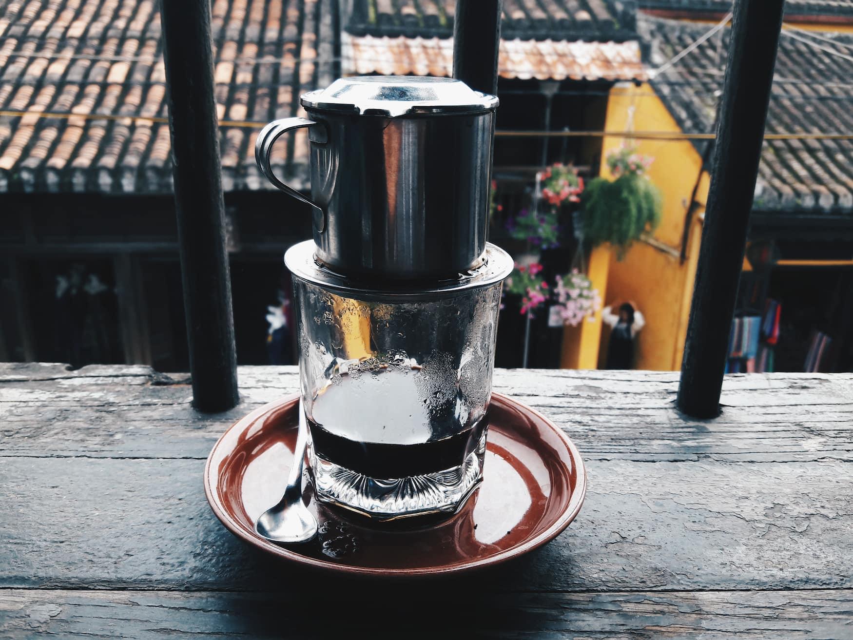 Traditioneller Kaffee aus Vietnam