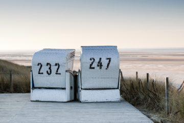 Strandkobr-Idylle auf Spiekeroog