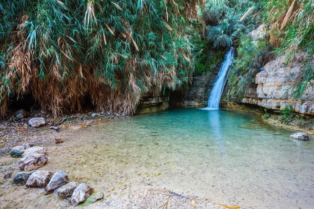 Wasserfall in Ein Gedi