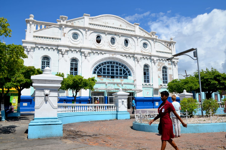 Kolonialhaus in der Hauptstadt Kingston