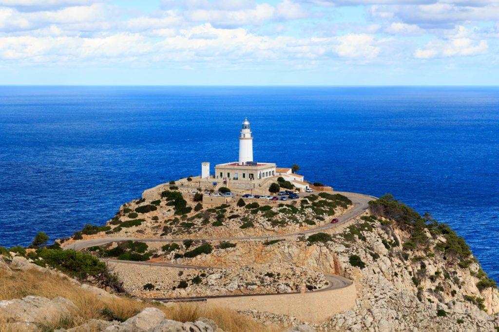 Leuchtturm Cap Formentor auf Mallorca