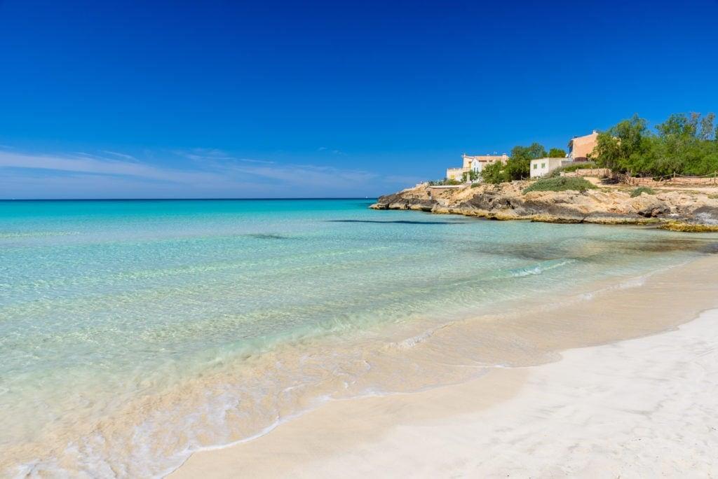 Platja es Trenc auf Mallorca
