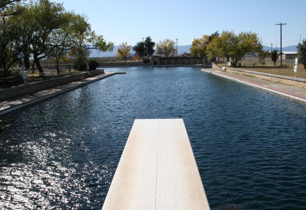 Pool im Balmorhea State Park
