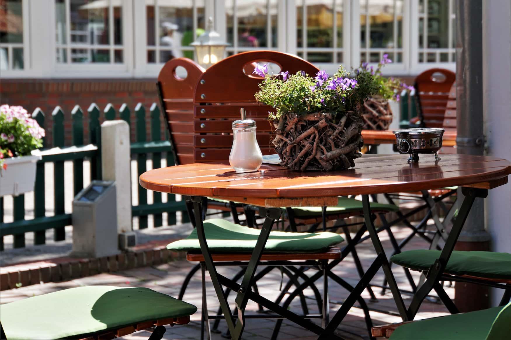Restaurants und Cafés auf Nordsee-Insel