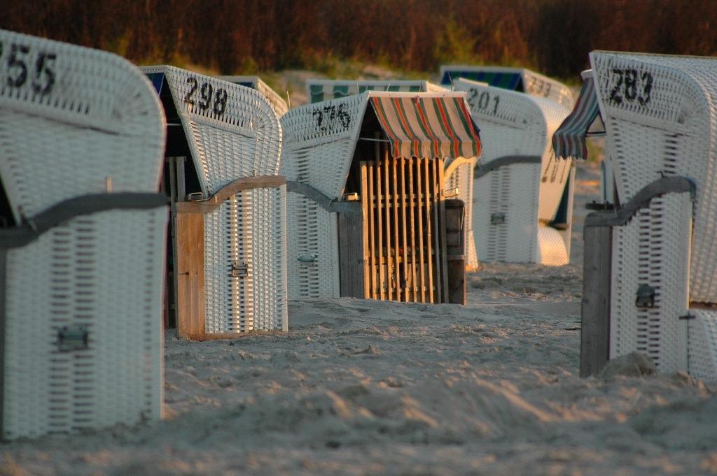 Strandkörbe auf Spiekeroog