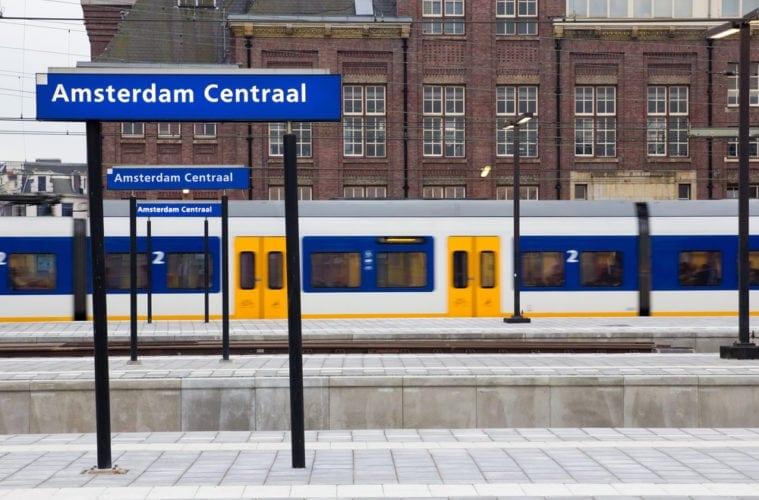 Hauptbahnhof in Amsterdam