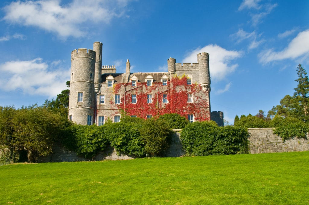 Das Castellewan Castle in Irland bietet eine traumhafte Kulisse.