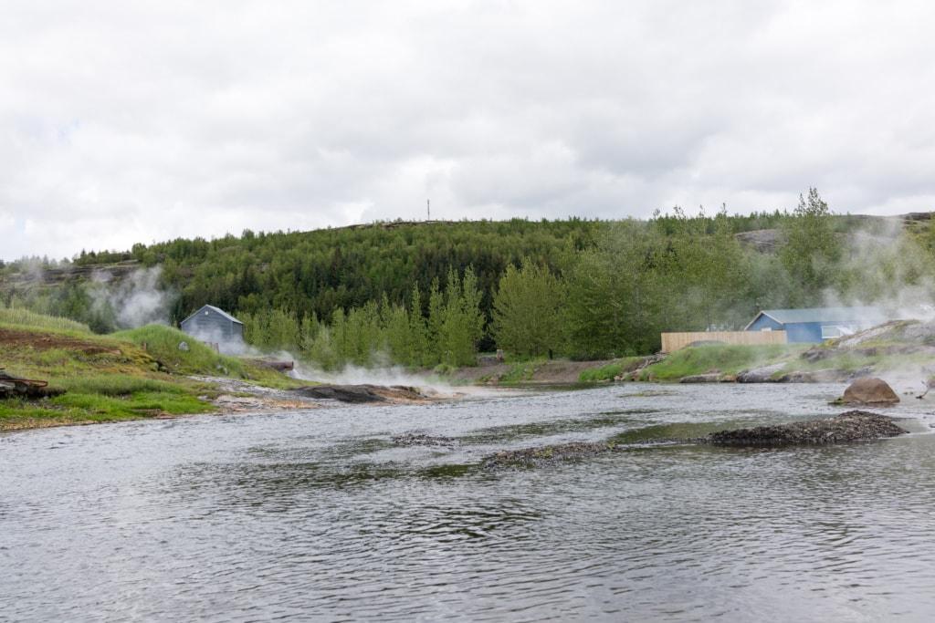Hochzeit auf Island: Bad in Gamla Laugin
