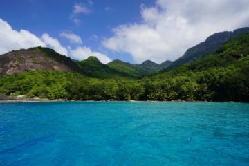 Die Natur auf den Seychellen ist wunderschhön.