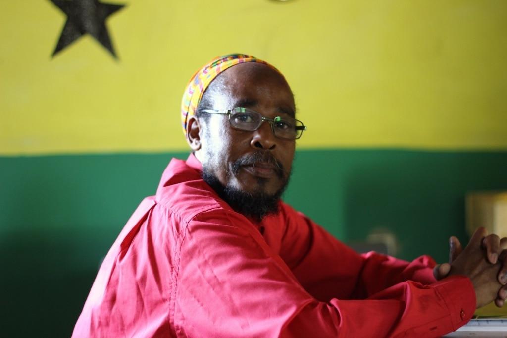 Priester einer Rastafari-Gemeinde in Äthiopien