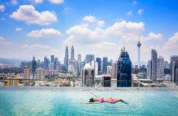 Rooftop Pool in Kuala Lumpur