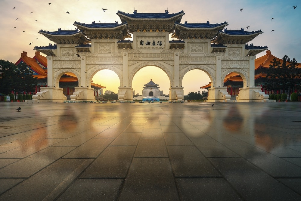 24 Stunden in Taipeh: Chiang Kai Shek Memorial Hall