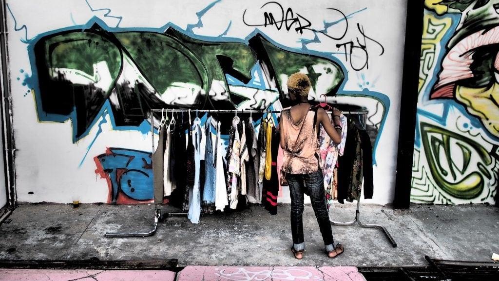 Street Fashion wird in Johannesburg wörtlich genommen.