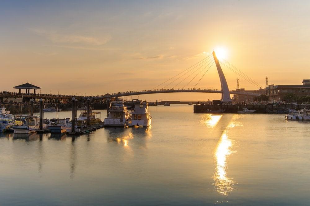 24 Stunden in Taiphe: der Hafen von Tamsui