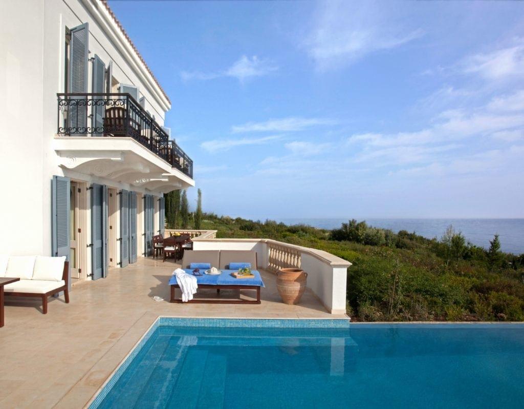 Pool im Anassa-Hotel auf Zypern