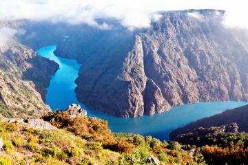 Galicien: Canyon de Rio Sil, Galicia, Spain