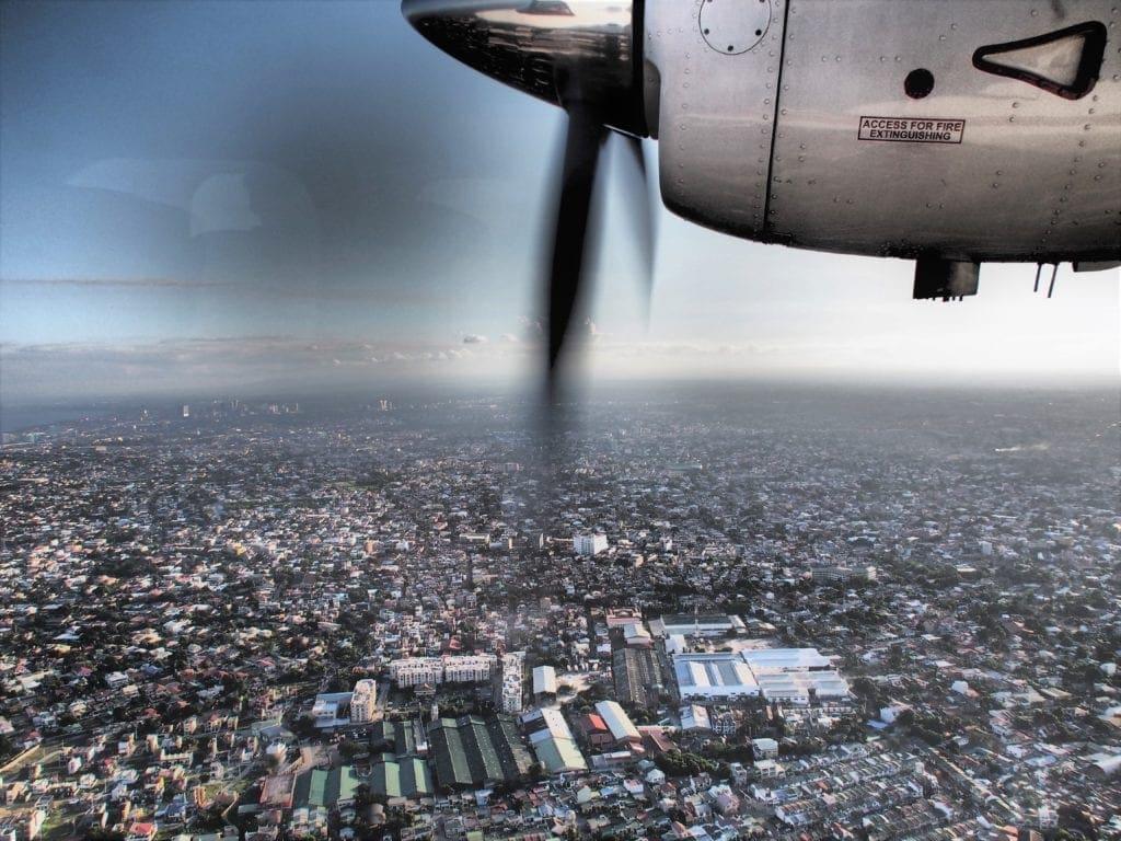 Von Manila nach Amanpulo mit der Propellermaschine