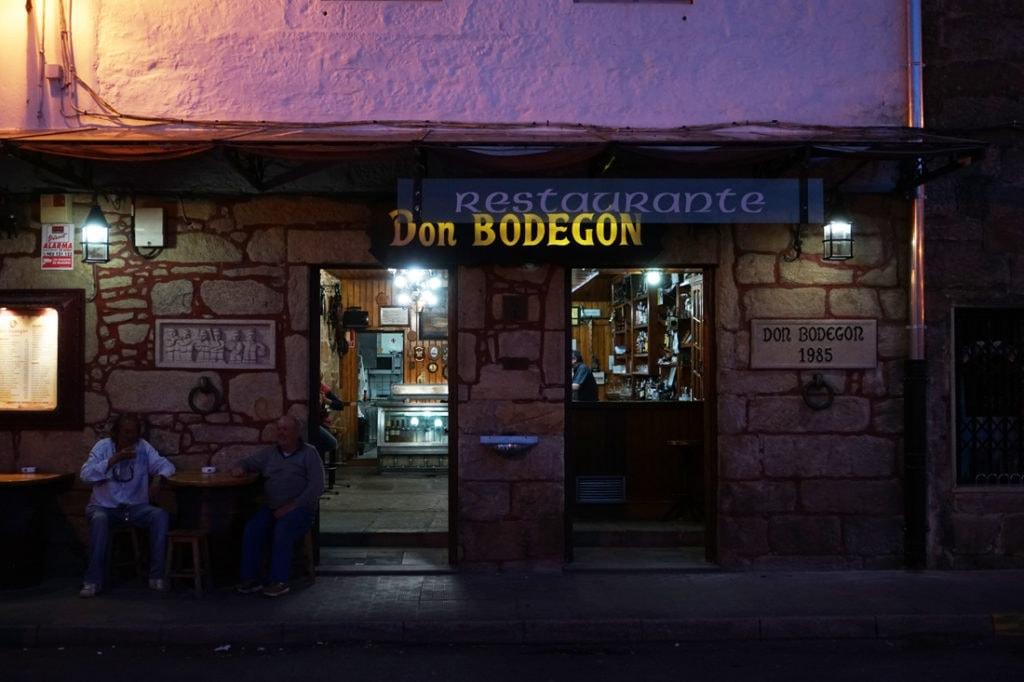 Restaurant Don Bodegón Muros