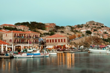 Romantischer Hafen, Lesbos