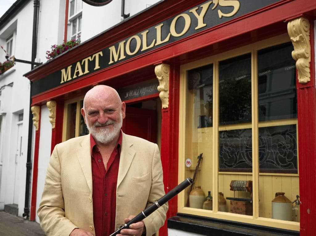 Irish Pub in Irland: das Matt Molloy's, Westport, County Mayo