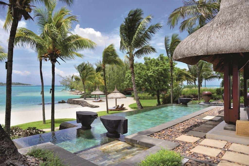 In welchen Pool im neuen Shangri-La auf Mauritius soll es zuerst gehen?