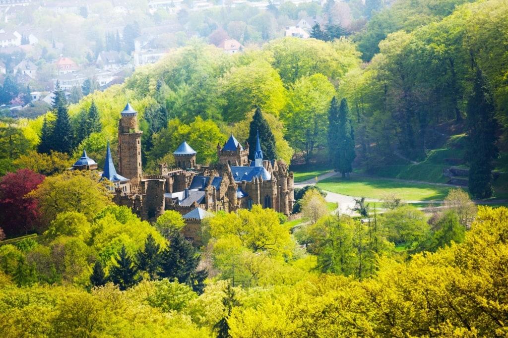 Löwenburg in Hessen