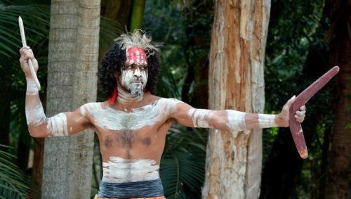 Leben der Aborigines