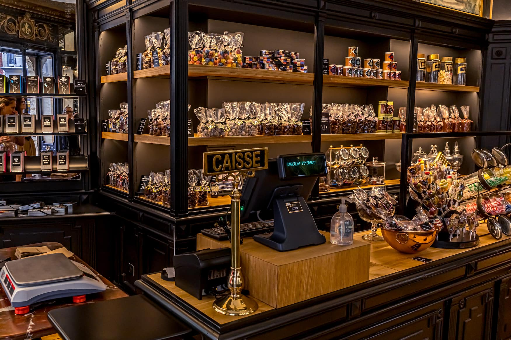 Schokoladenmanufaktur in Bayonne, Frankreich