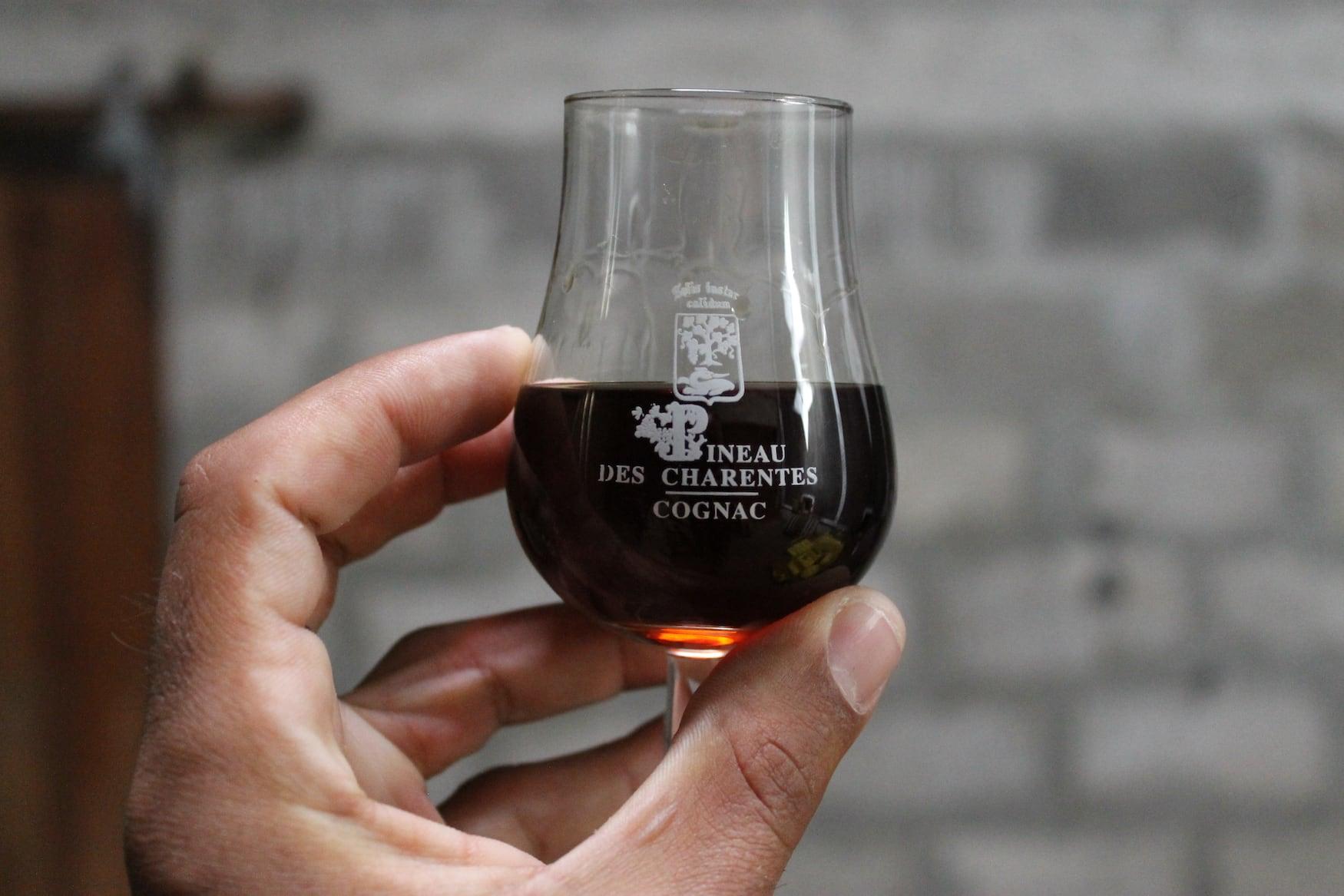 Pineau des Charentes mit Cognac